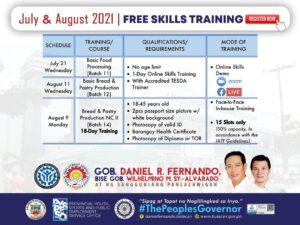 free skills training